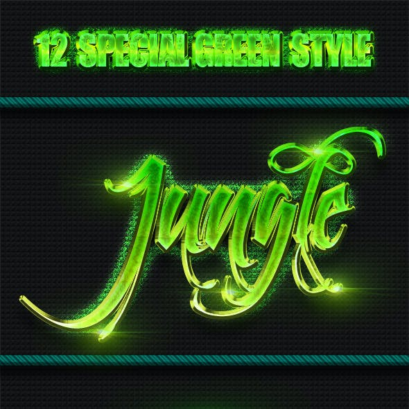 12 Special Green Styles