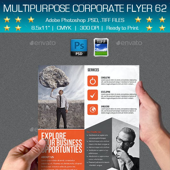 Multipurpose Corporate Flyer 62