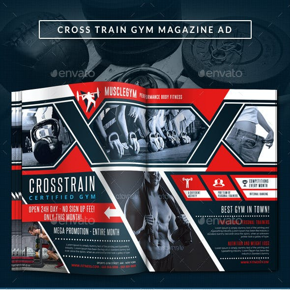 Cross Training Gym Magazine Ad