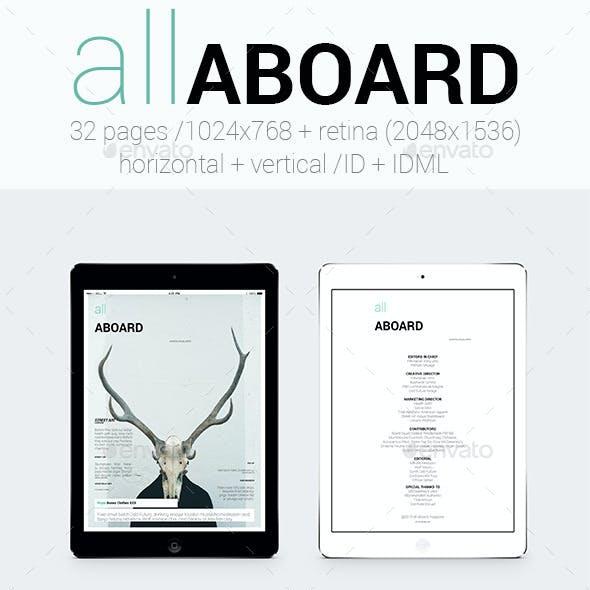 Tablet&iPad All Aboard Magazine