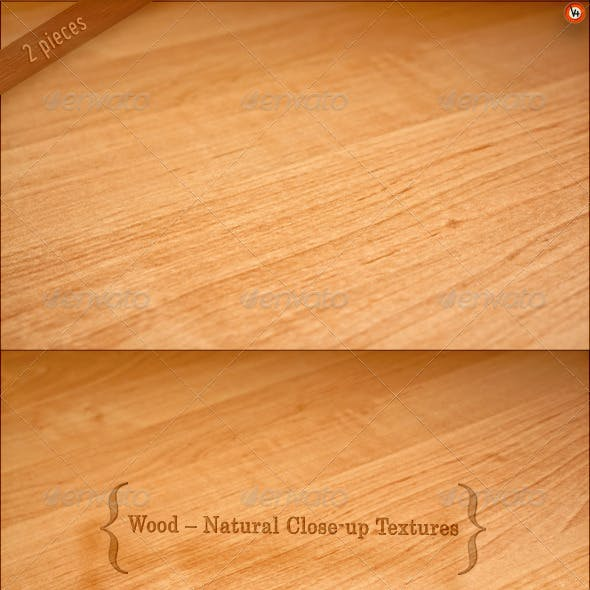 Wood – Natural Close-up Textures