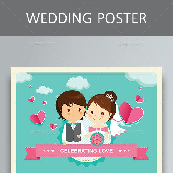 Wedding Poster Templates