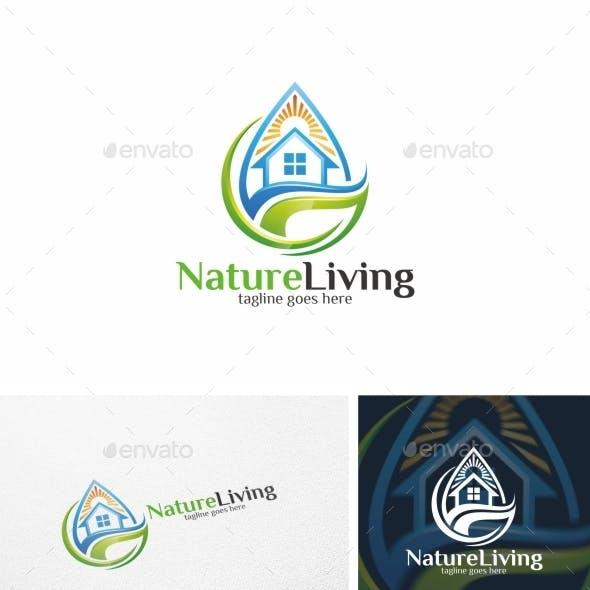 Nature Living / House - Logo Template