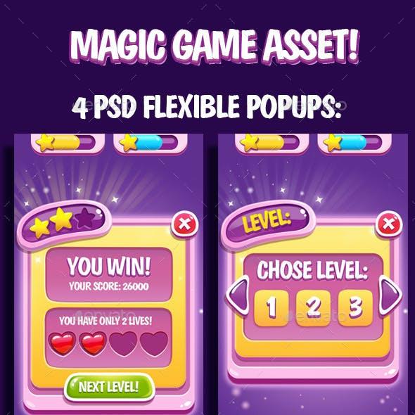 Magic GUI Asset