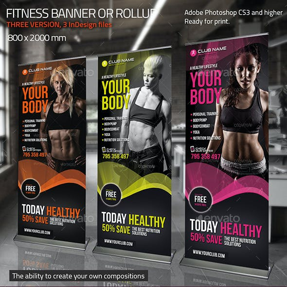 Fitness Banner