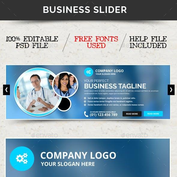 Business Slider V40