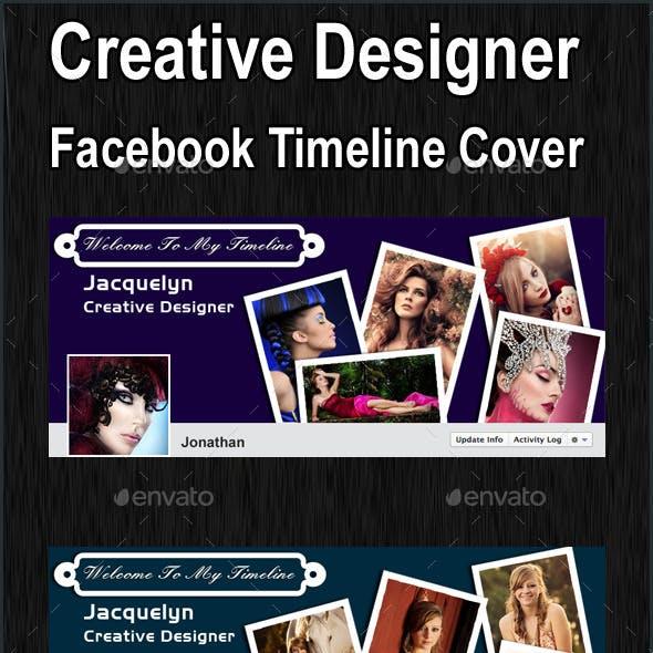Creative Designer Facebook Timeline Cover