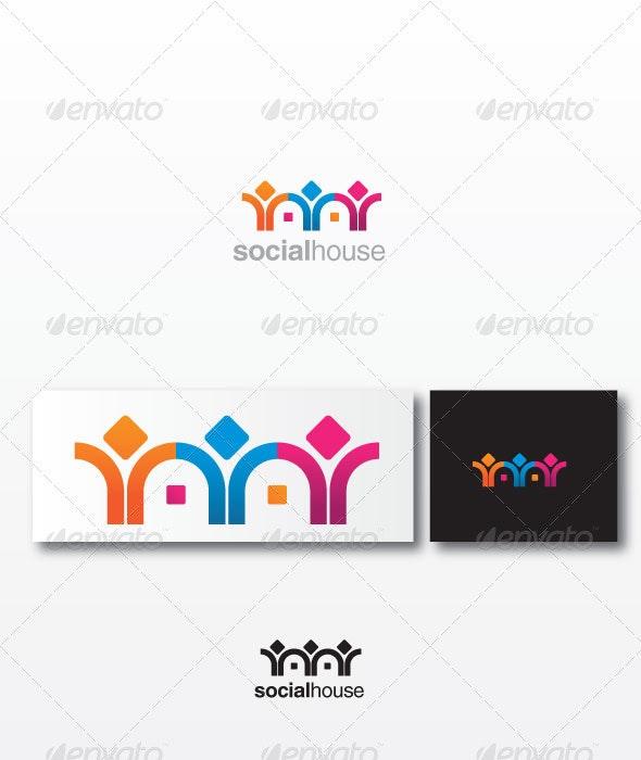 Socialhouse - Humans Logo Templates