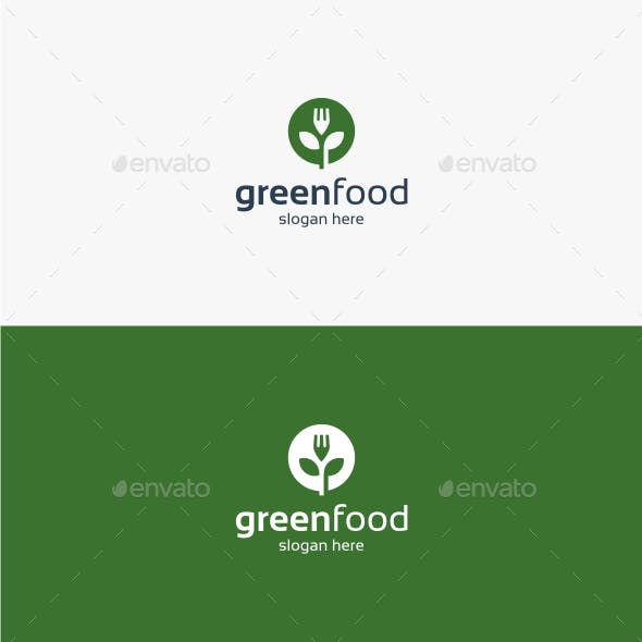 Green Food - Logo Template