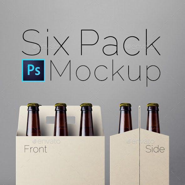 Six Pack Mockup