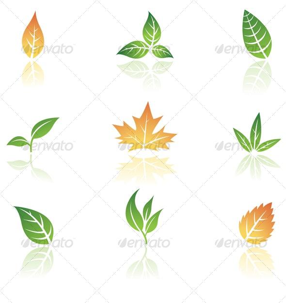 Leaves - Seasonal Icons