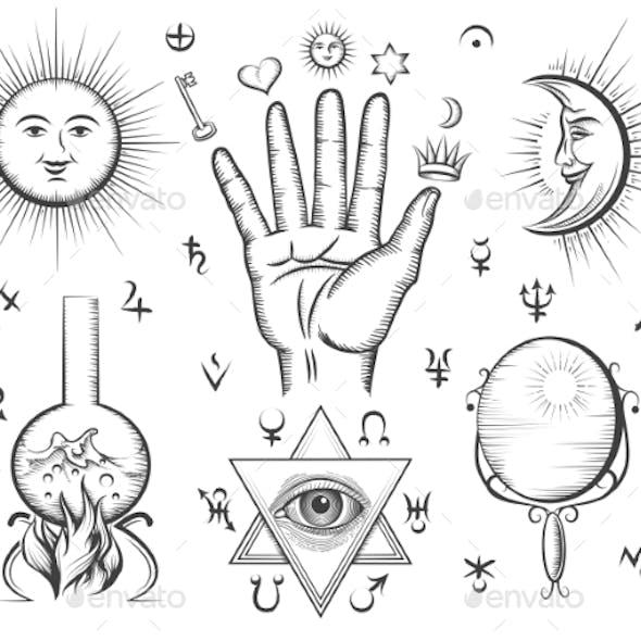 Alchemy, Spirituality, Occultism, Chemistry, Magic