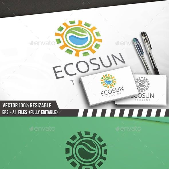 Sun Nature Logo