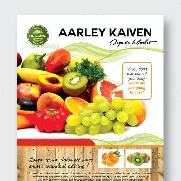 Organic Market Flyer
