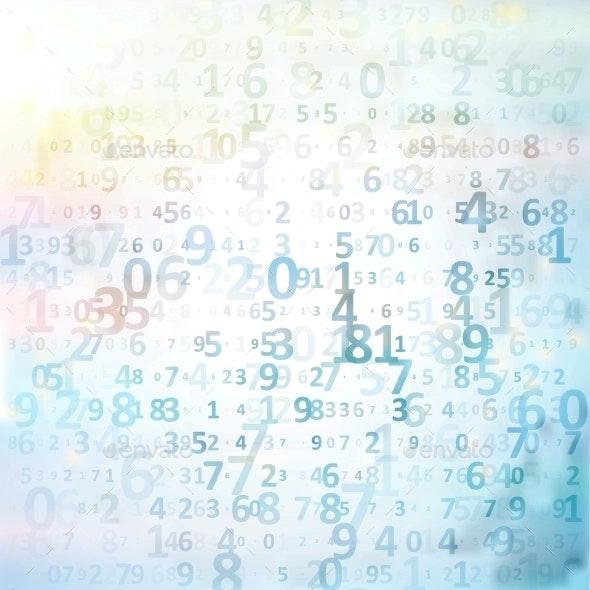 Digital Code Background - Tech / Futuristic Backgrounds