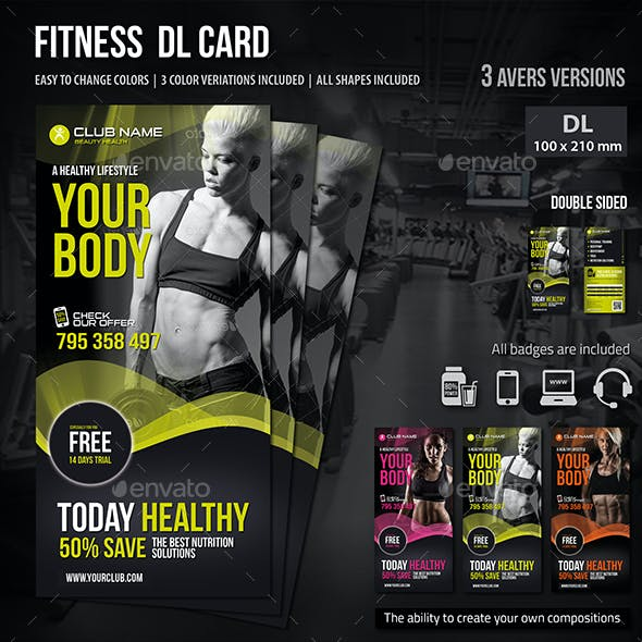 Fitness DL Card