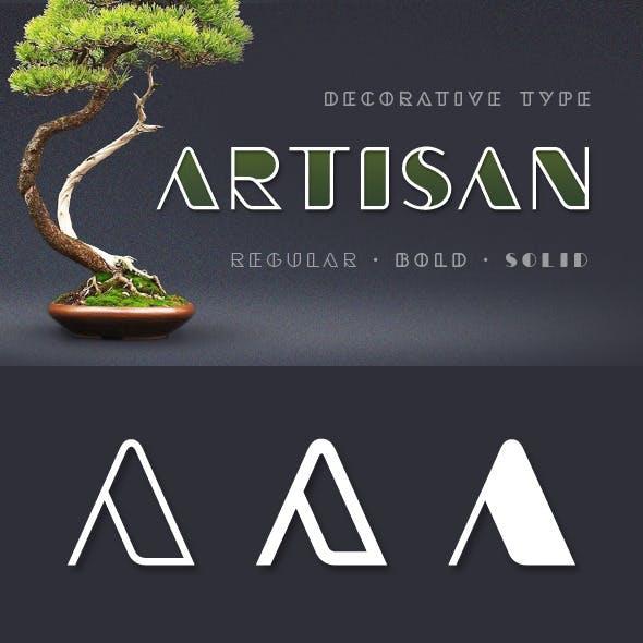 Artisan st Typeface