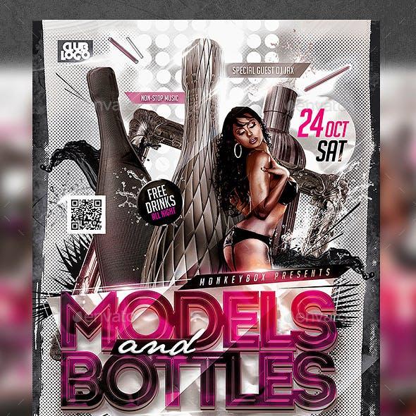 Models&Bottles Party Konnekt