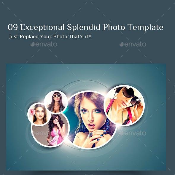 09 Exceptional Splendid Photo Template