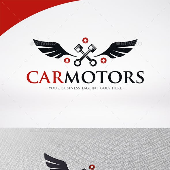 Car Motor Logo Template