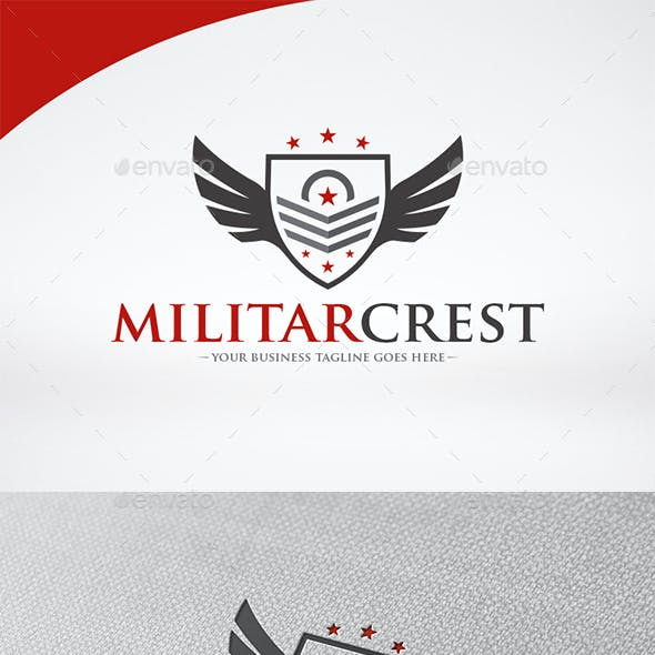 Military Crest Logo Template
