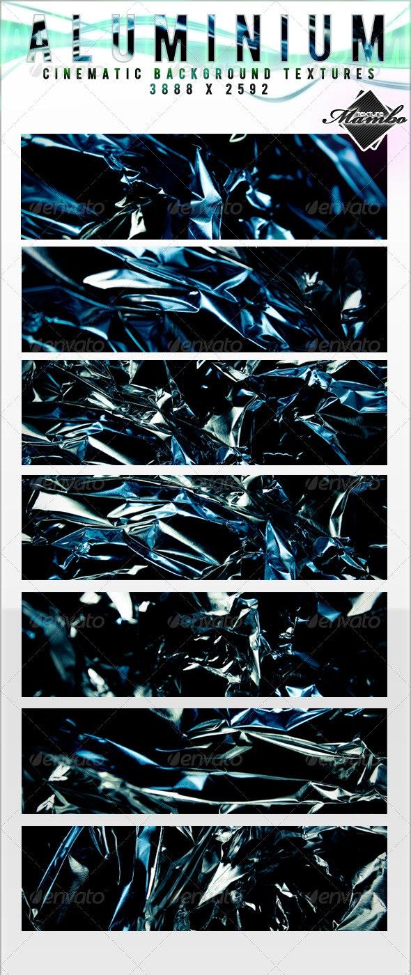 Aluminium - Cinematic Background Textures - Metal Textures