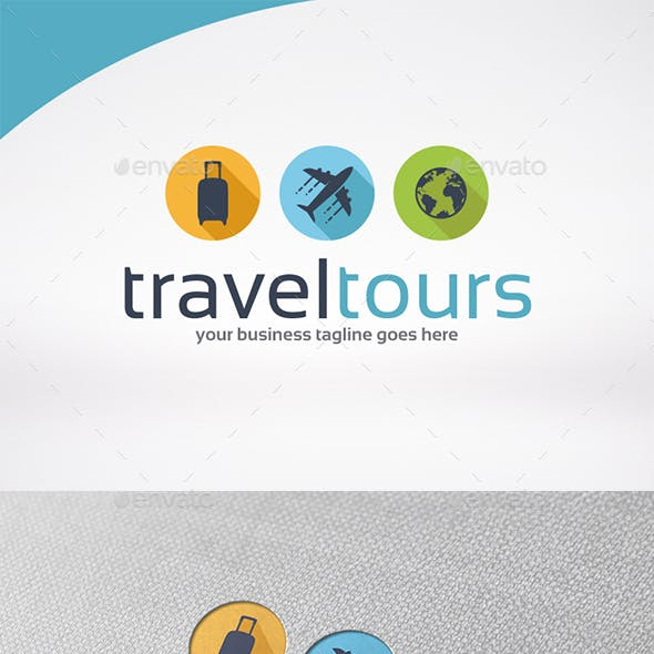 Travel Tour Logo Template