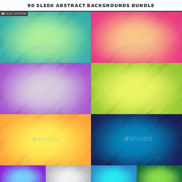 90 Sleek Abstract Backgrounds Bundle