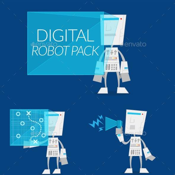 Digital Robot Pack