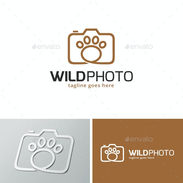 Wild Photography / Animal Photo Logo