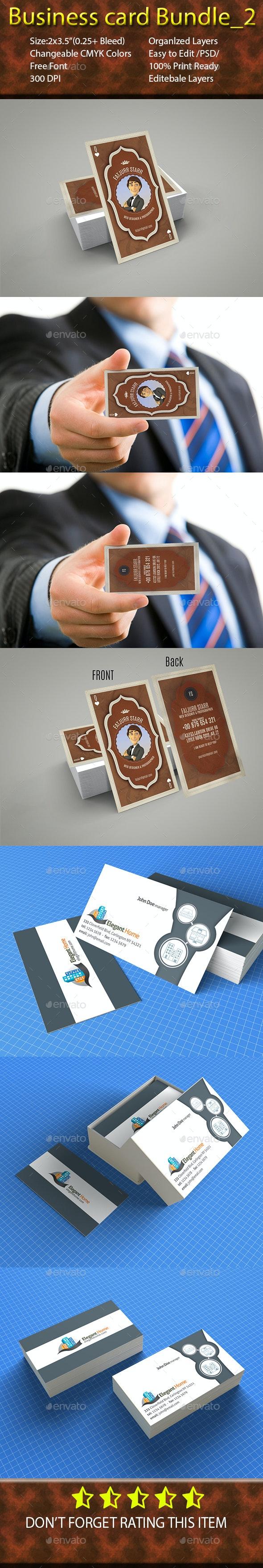 Business card Bundle_2 - Corporate Business Cards