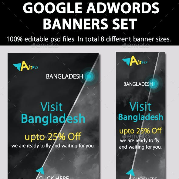 Travel Agent Banner/ Air Ticket Promotion