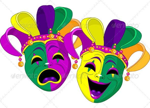 Mardi Gras Masks - Miscellaneous Seasons/Holidays