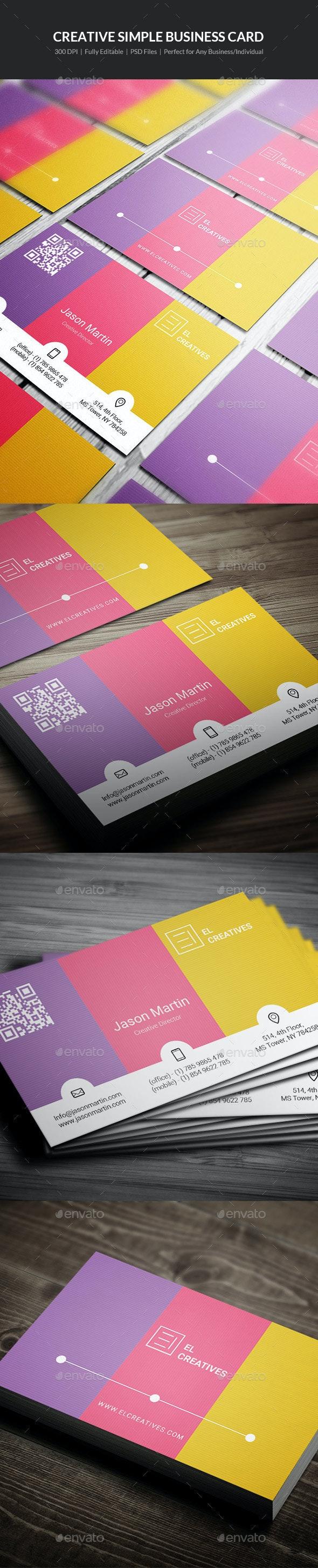 Creative Simple Business Card - 06 - Creative Business Cards
