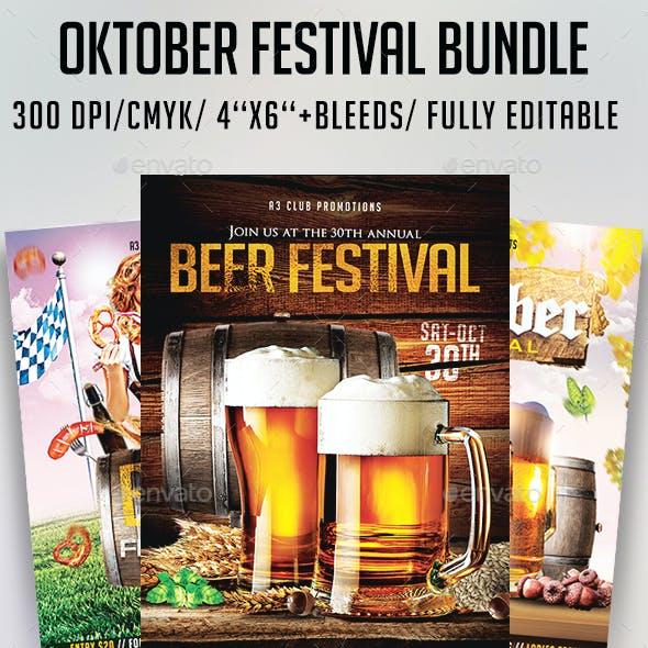 Oktober Festival Flyer Bundle