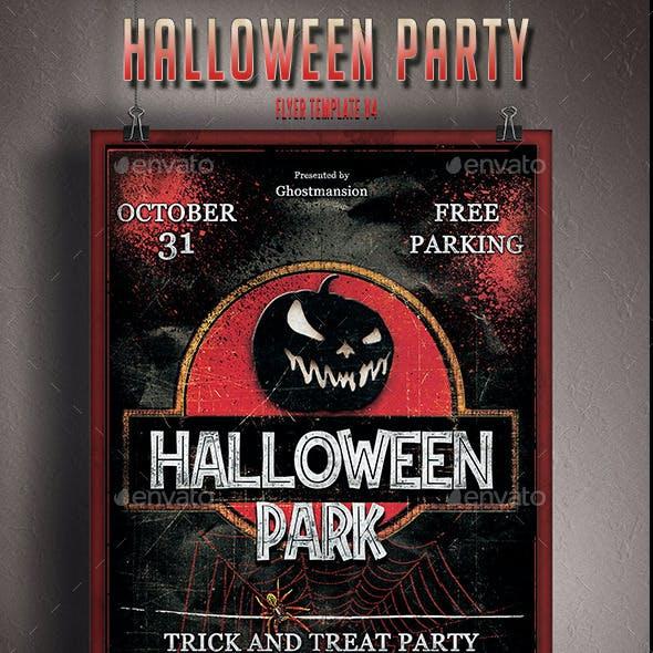 Halloween Flyer Template V4