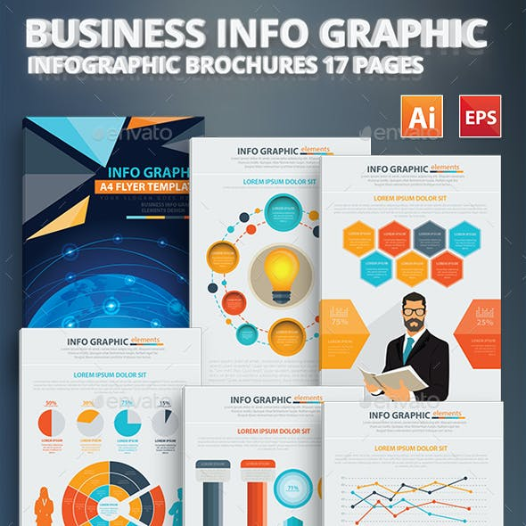 Business Info Graphic Elements Design