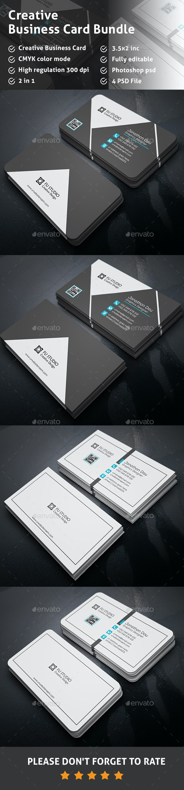 Business Card Bundle - Creative Business Cards