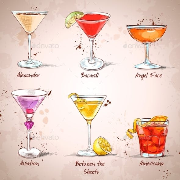The Unforgettables Cocktail Set
