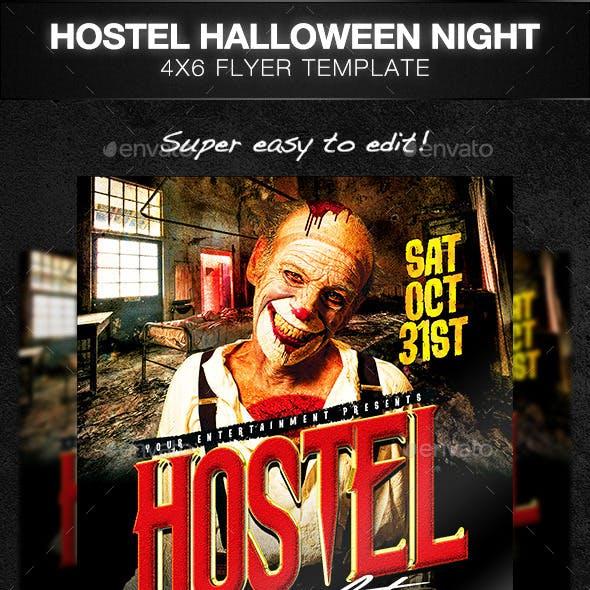 Hostel Halloween Party