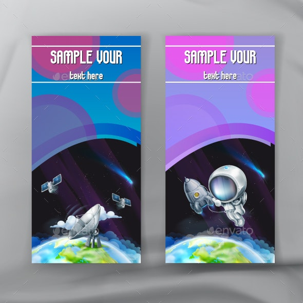 Space Flyers - Vectors