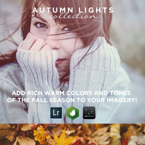 15 Autumn Lights - Lightroom Presets