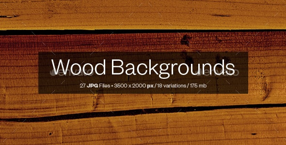 Wood Backgrounds - Nature Backgrounds