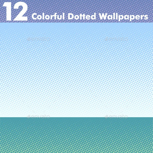 Colorful Dotted Wallpapers