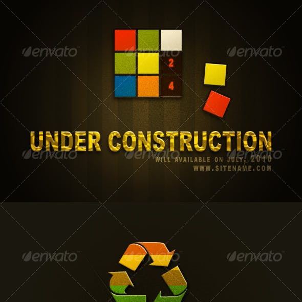 Under Construction & Under Maintenance Set #2
