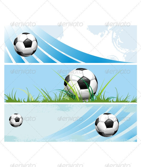 Football banners - Sports/Activity Conceptual