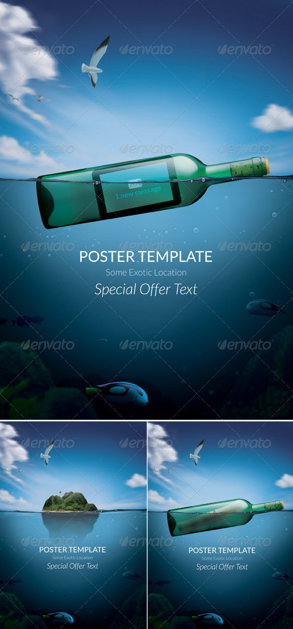 Exotic Poster Template - Commerce Flyers