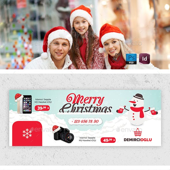 Christmas Product Cover Templates
