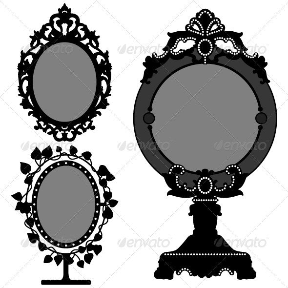 Mirror Design - Man-made Objects Objects