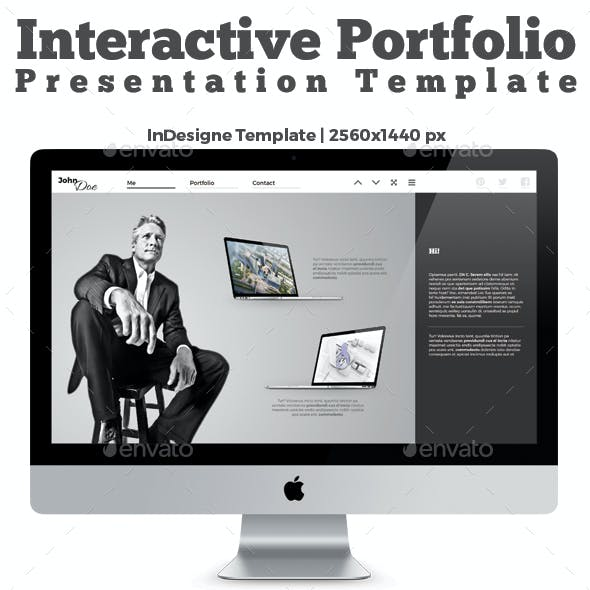 Interactive PDF Prezentation